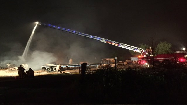 Spartanburg Co. Business Catches Fire Tuesday Morning (Image 1)_15511