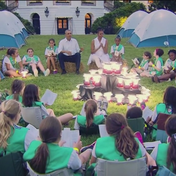 Girl Scouts White House Sleep Over_22676