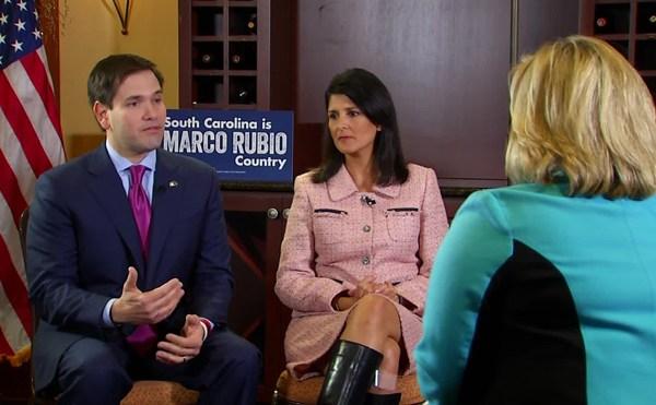 Rubio - Haley interview_138061