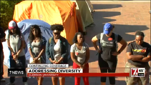 Clemson students meet with administrators over campus equality_171383