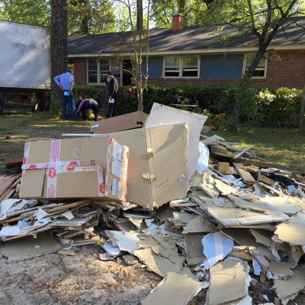 flood damaged home in Sumter_164743