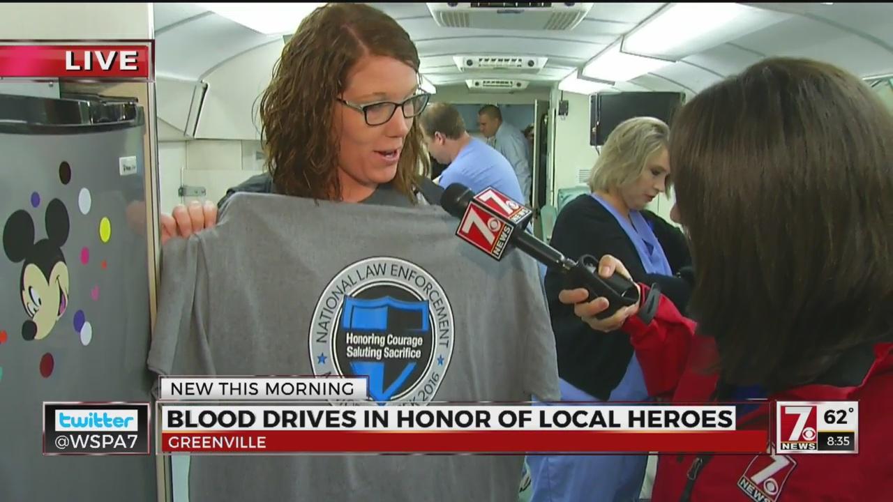 Police/EMS Week Blood Donation