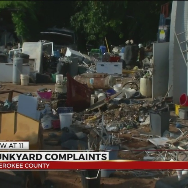 Junkyard complaints in Cherokee County, Sheriff wants litter cleaned up
