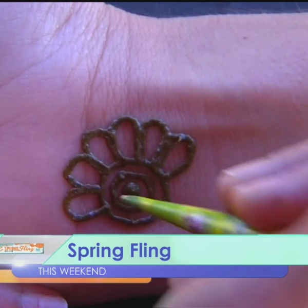 Henna Tattoo At Spring Fling_181975