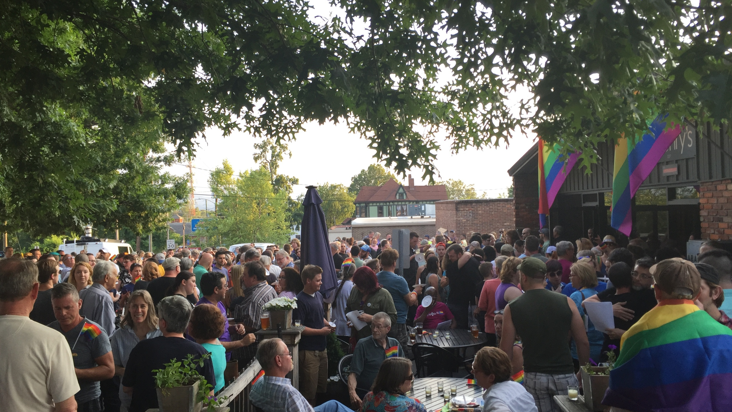 Crowd at Orlando shooting vigil in Asheville, S.C._201046