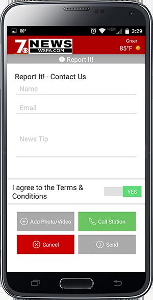 7News app report it