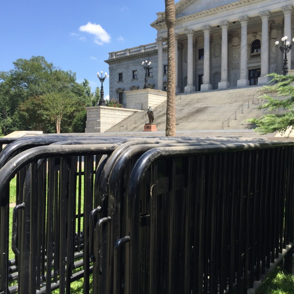 Barricades at Statehouse_213074