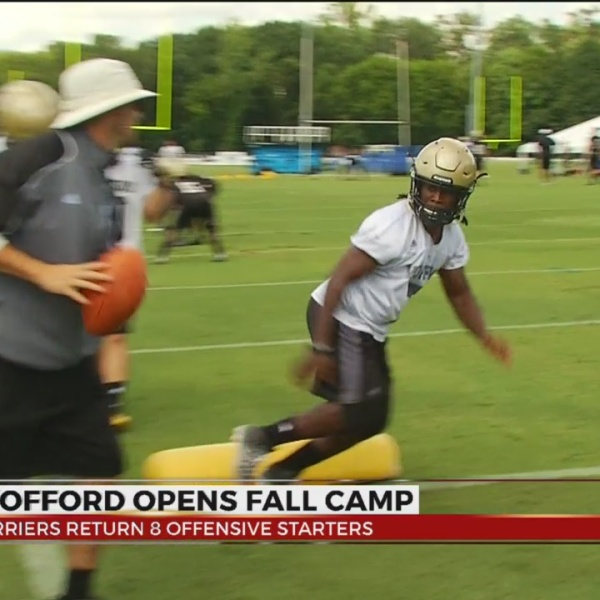 Wofford Opens Fall Camp With Two Hour Practice