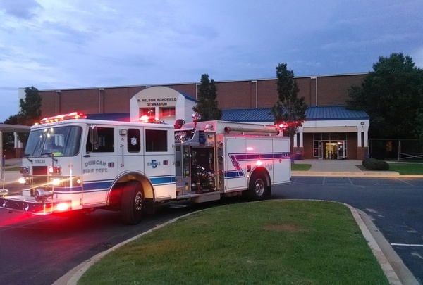 Byrnes High School Fire Gym_233060