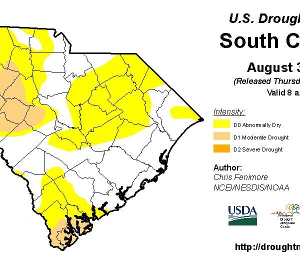 Drought Monitor SC September_241528