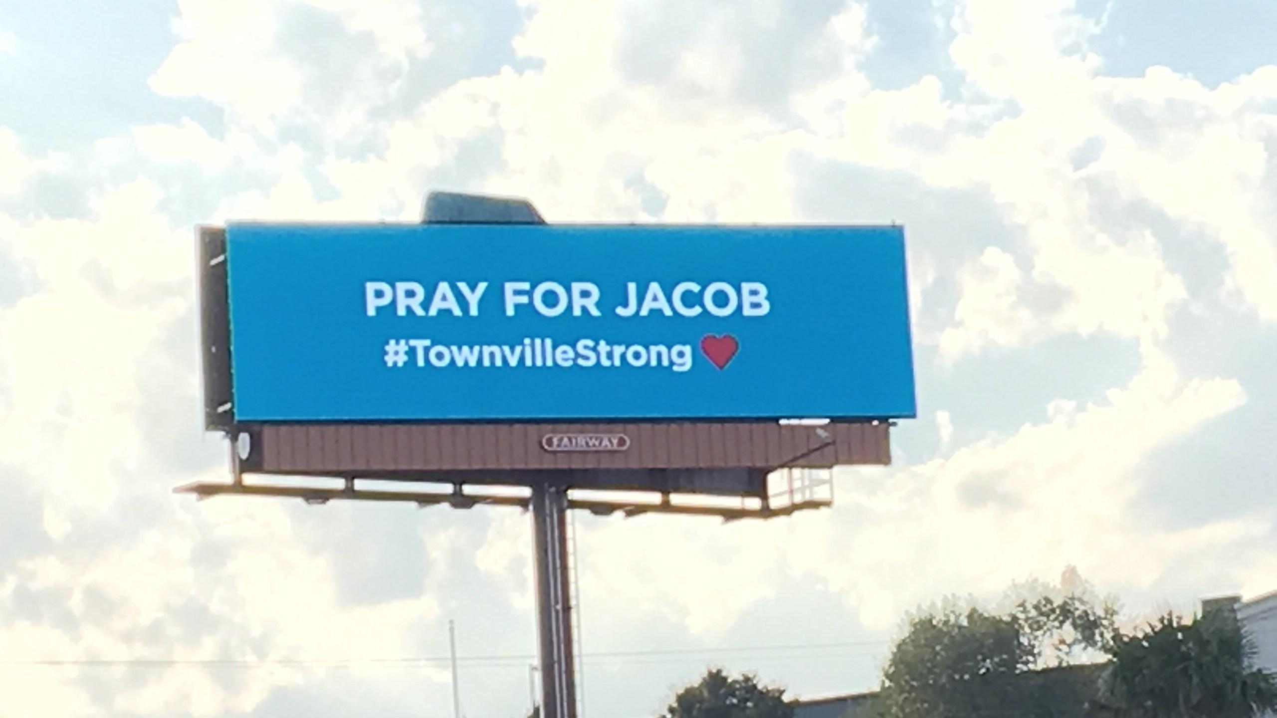 Pray for Jacob billboard_251848