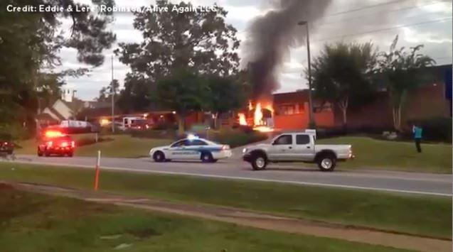School Bus Fire in Irmo_260765