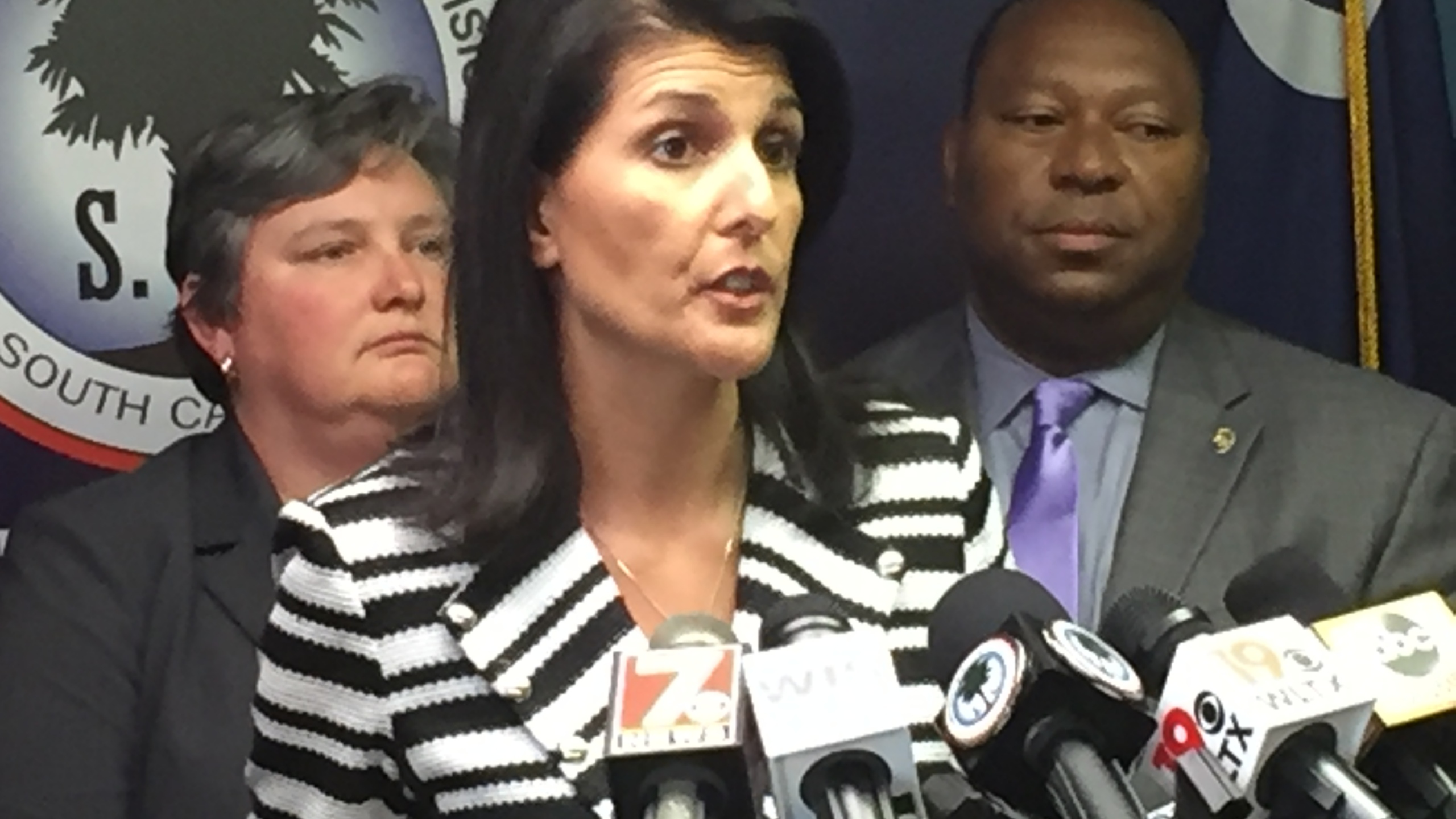 Governor Haley during Press Conference_253473