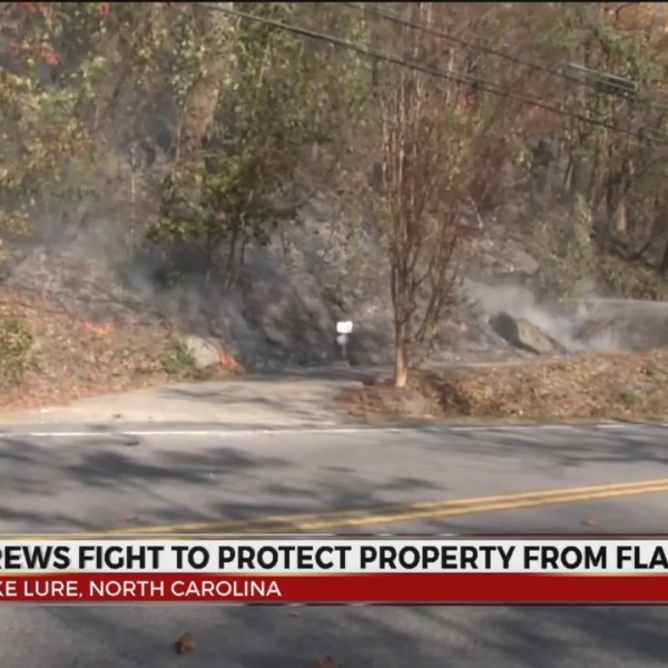Lake Lure Fire scorches 4,500 acres; triggers new evacuations