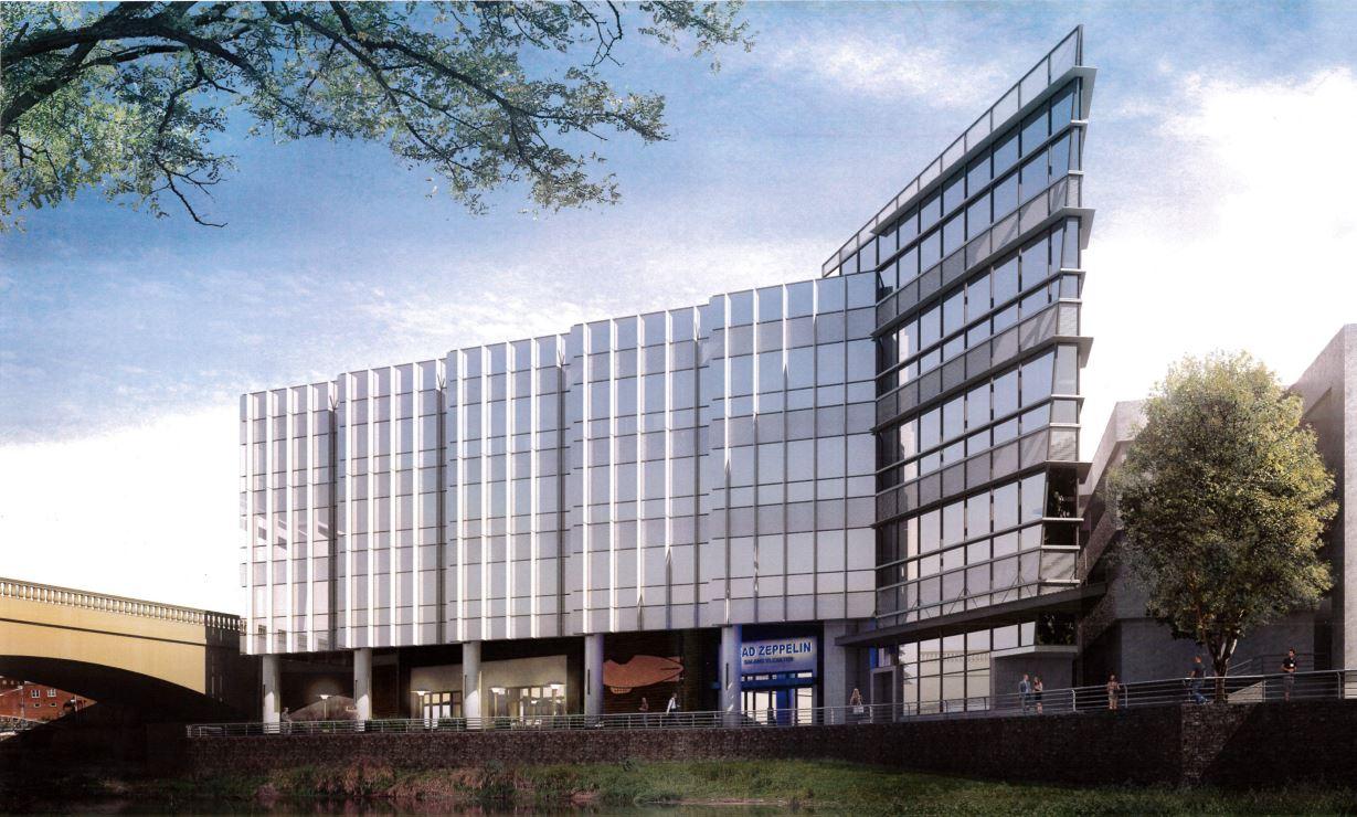 Proposed Falls Park office design_275577