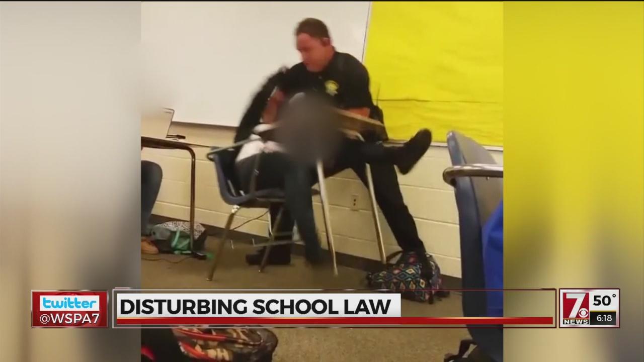 Disturbing Schools Law