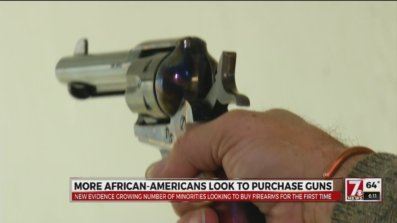 More African Americans look to purchase guns