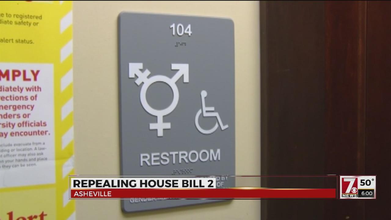 Asheville businesses push for bathroom choice