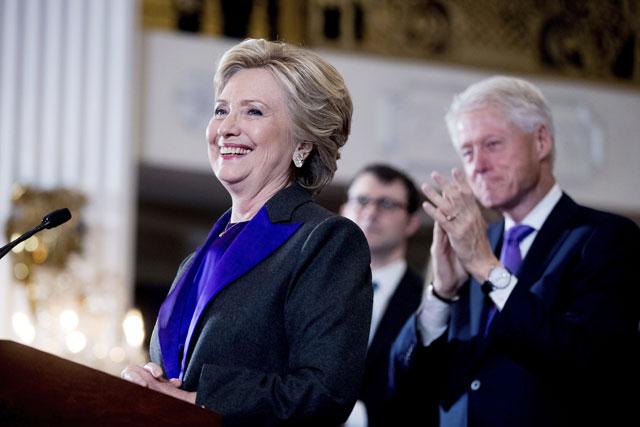Hillary Clinton concedes_292977