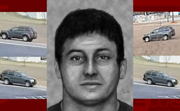 Kidnapping and Armed Robbery Suspect Sketch and Car Chesnee Spartanburg Co._296281