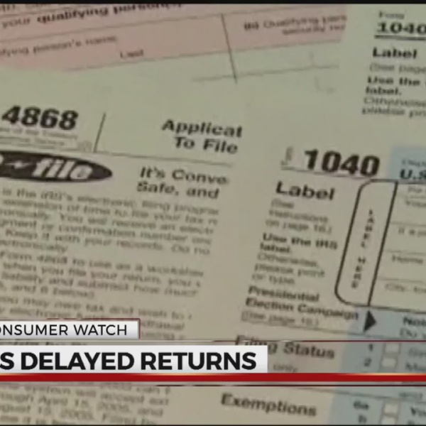 IRS delaying returns