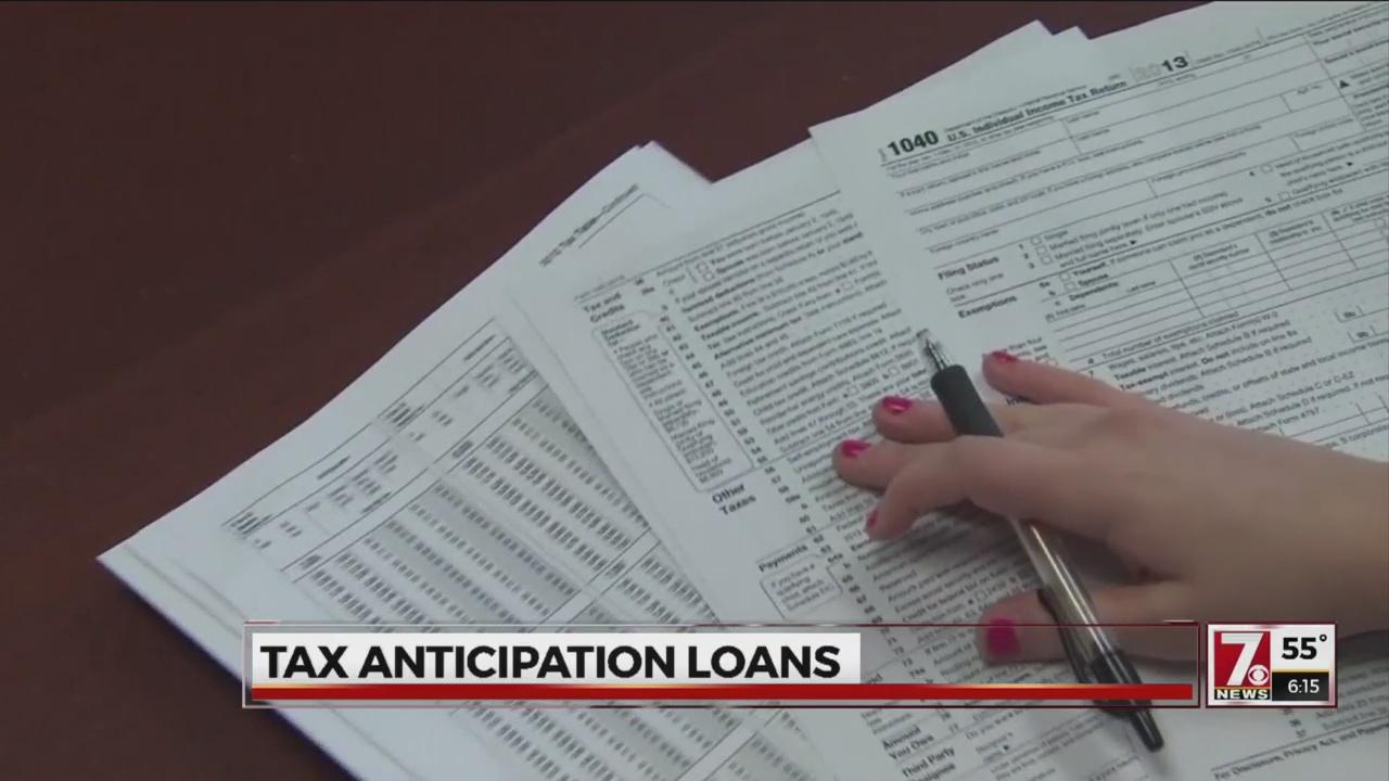 Tax anticipation loans