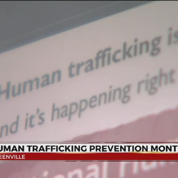 Greenville Co. Sheriff's Office talks Human Trafficking Prevention