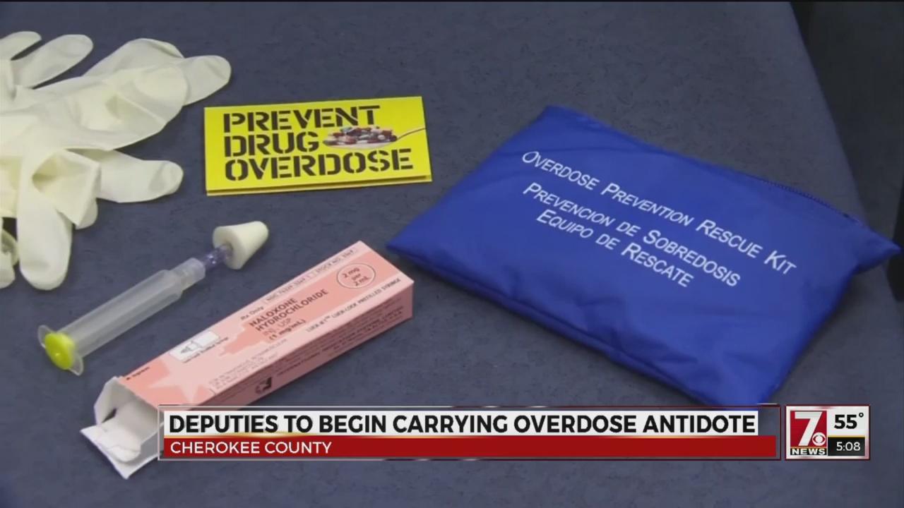 Deputies to begin carrying overdose antidote
