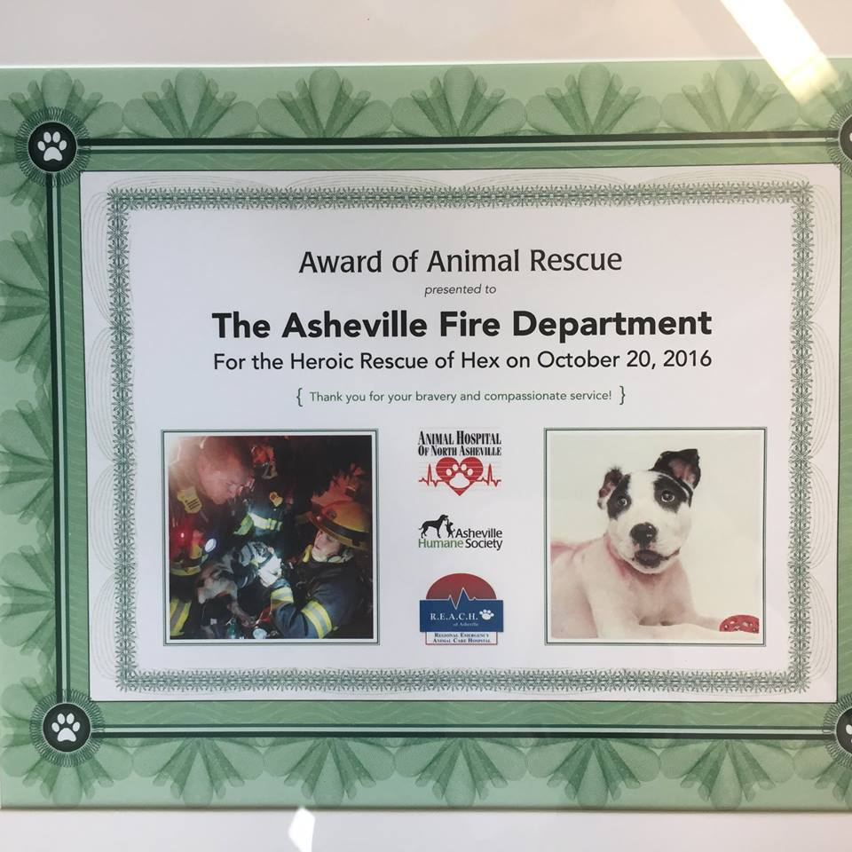 Credit: Asheville Fire Department