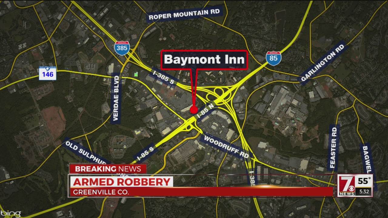 Deputies investigating robbery at Greenville Co. hotel