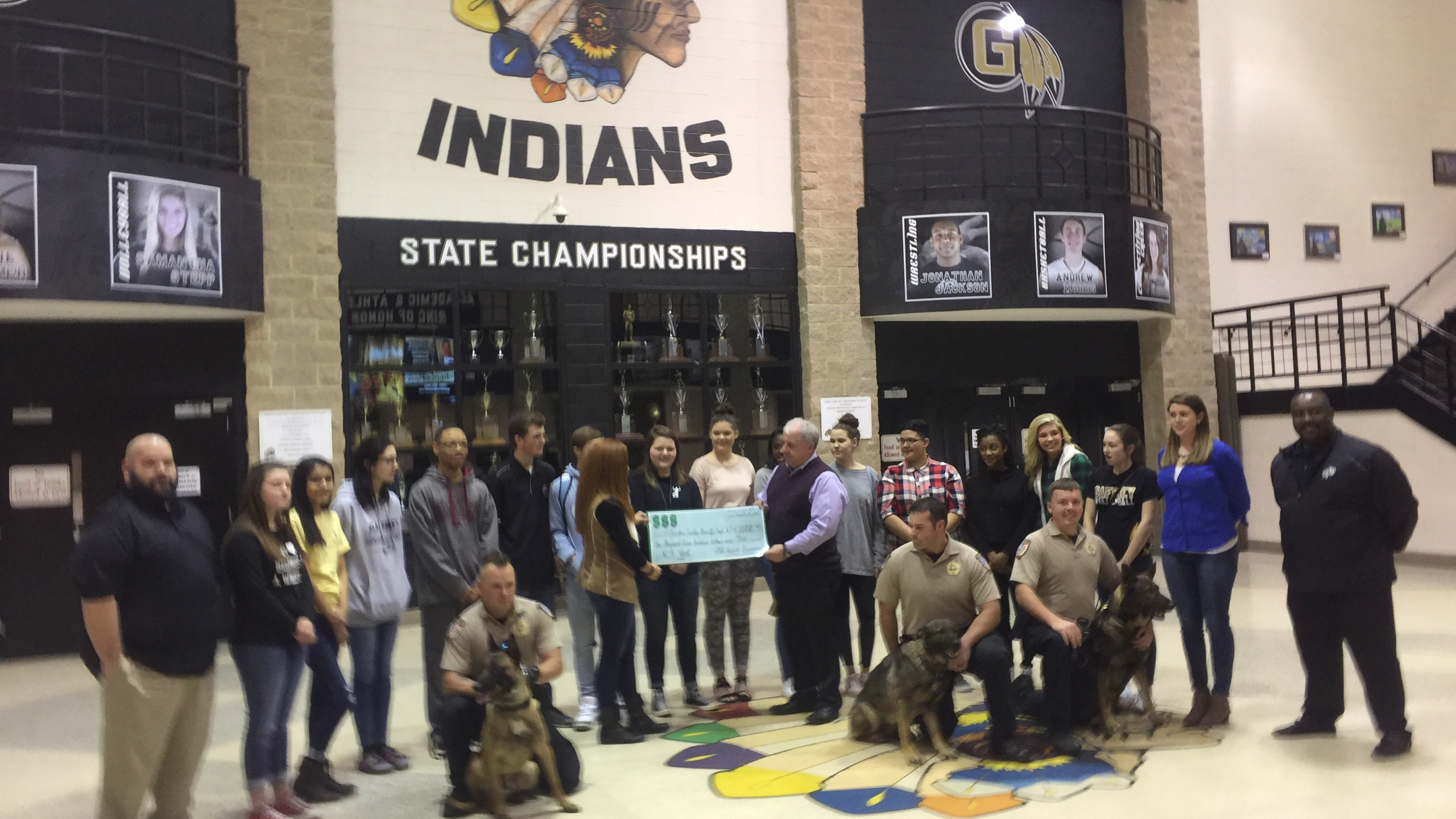 Gaffney HS check donation_351822