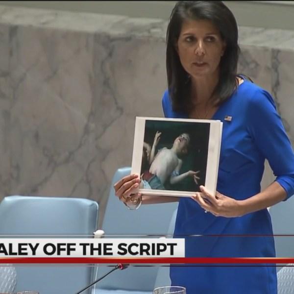 Censoring Haley