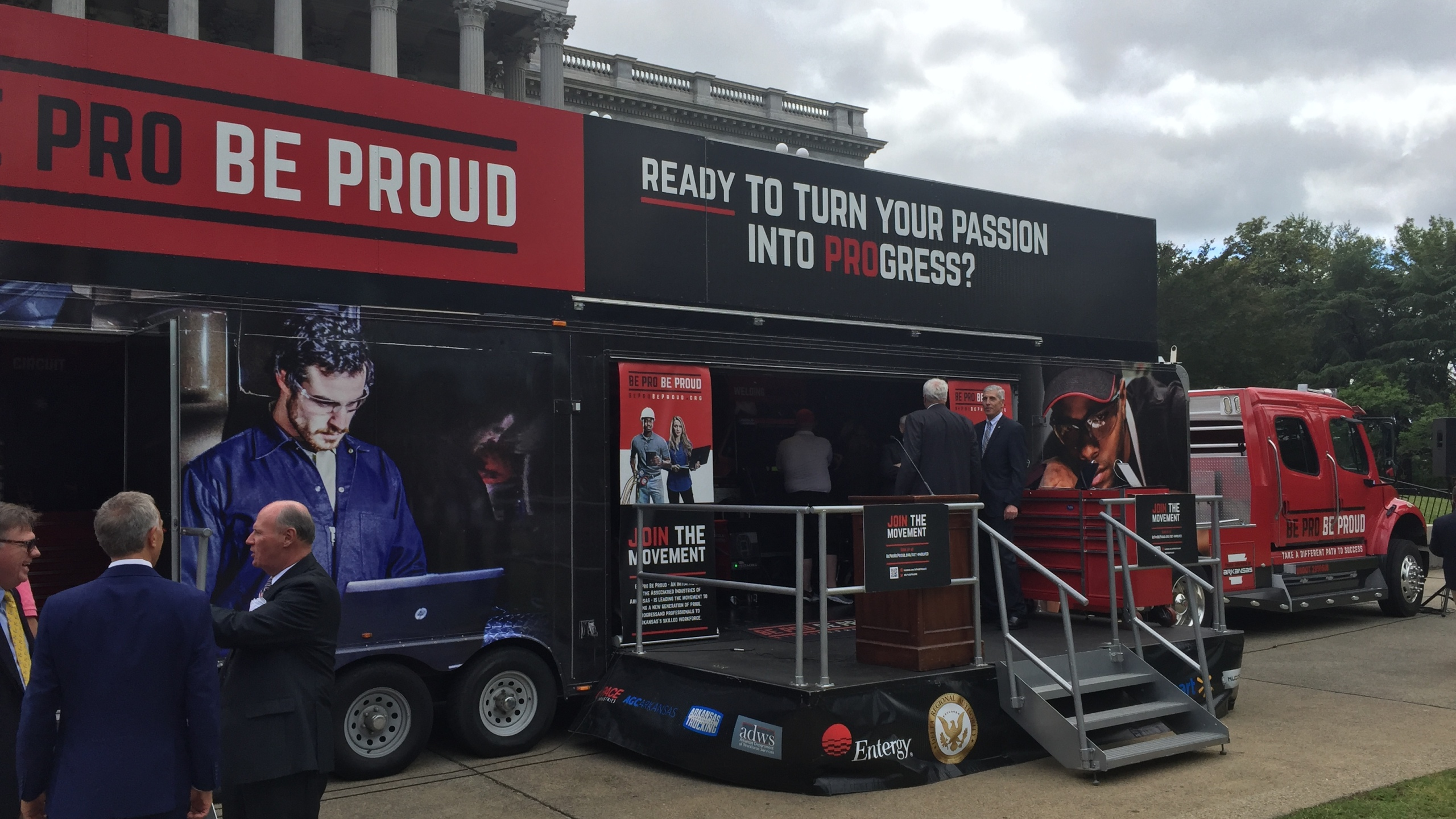 Be Pro Be Proud truck_370498