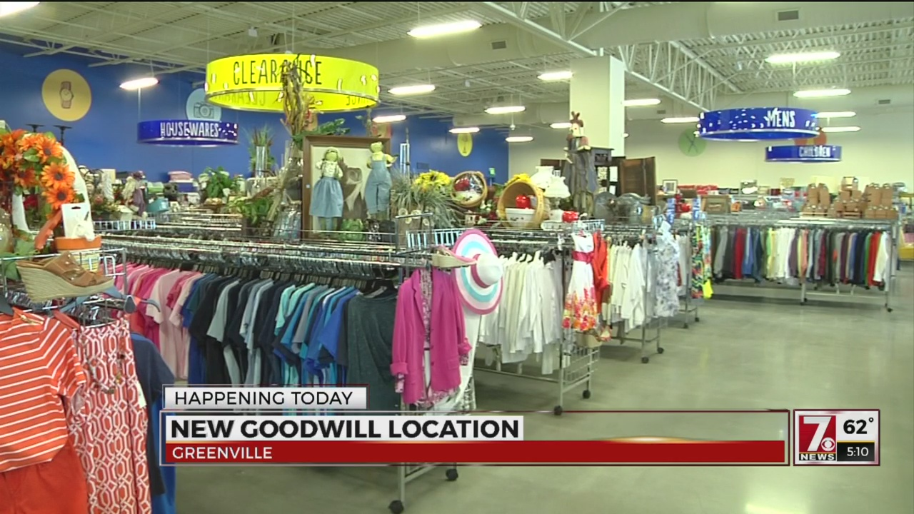 Goodwill Greenville Sc >> New Goodwill Store Opens In Greenville