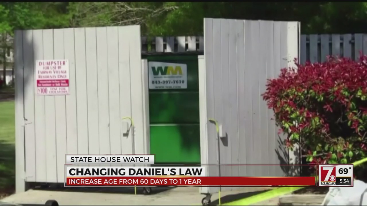 Daniels law age change bill