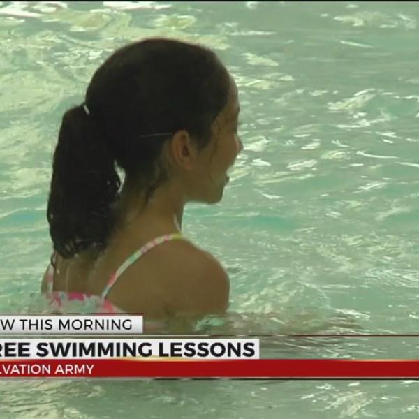 Kroc Center offering free swim lessons for kids