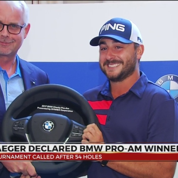 Stephan Jaeger Wins Rain Shortened BMW Charity Pro-Am