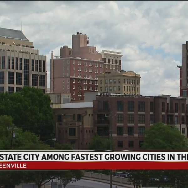 Greenville Ranks 4th Among Fastest Growing US Cities
