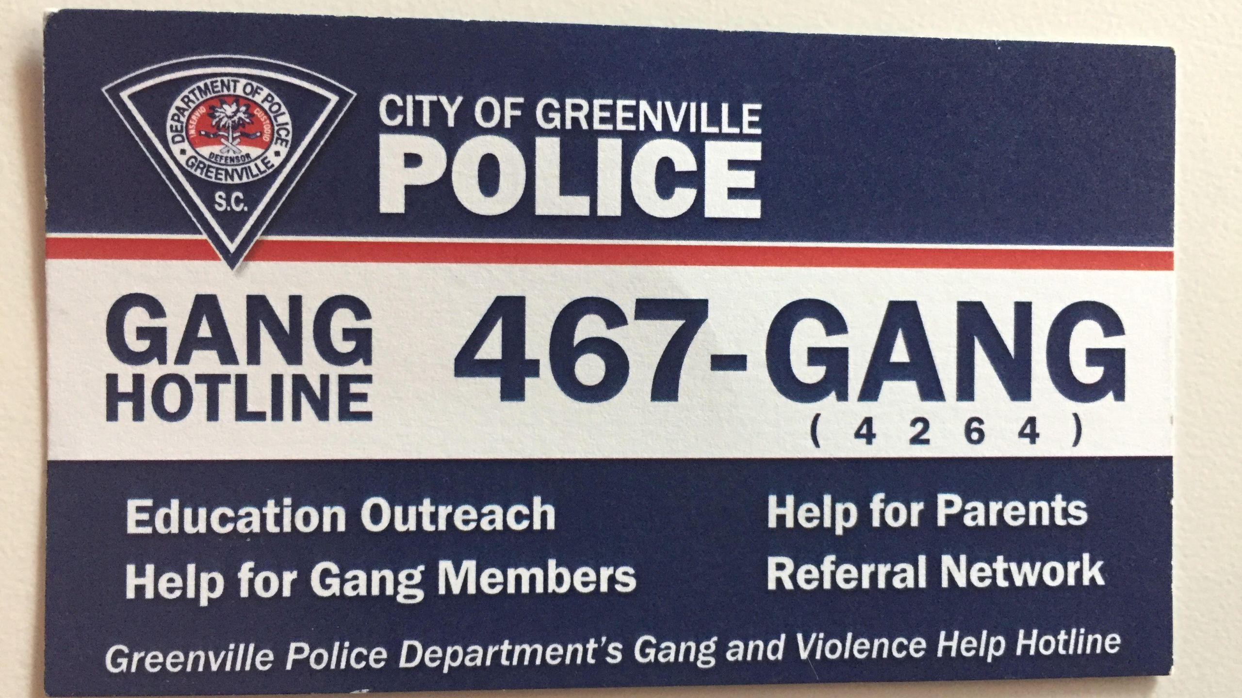 GPD gang hotline_385167