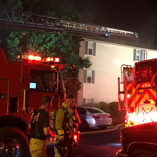 Village Creek Apartments fire 1_383133