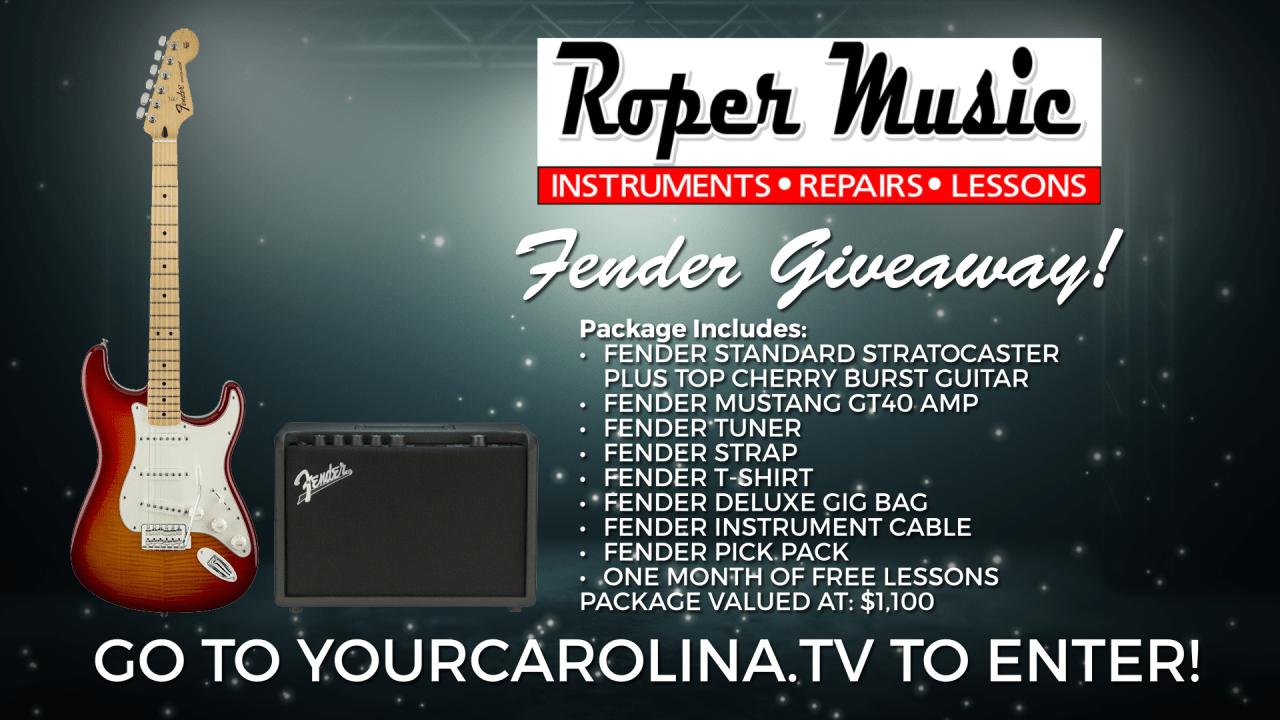 Roper Music Summer Fender Giveaway
