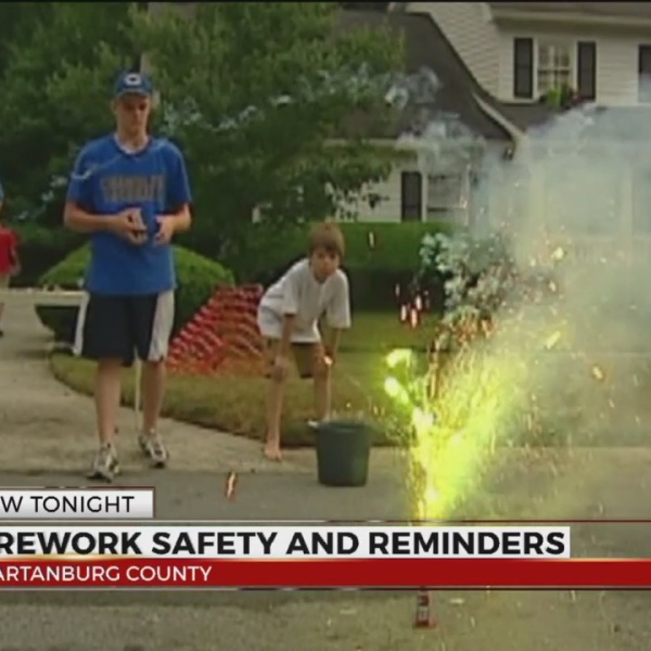 Fireworks safety tips, reminders for July 4th