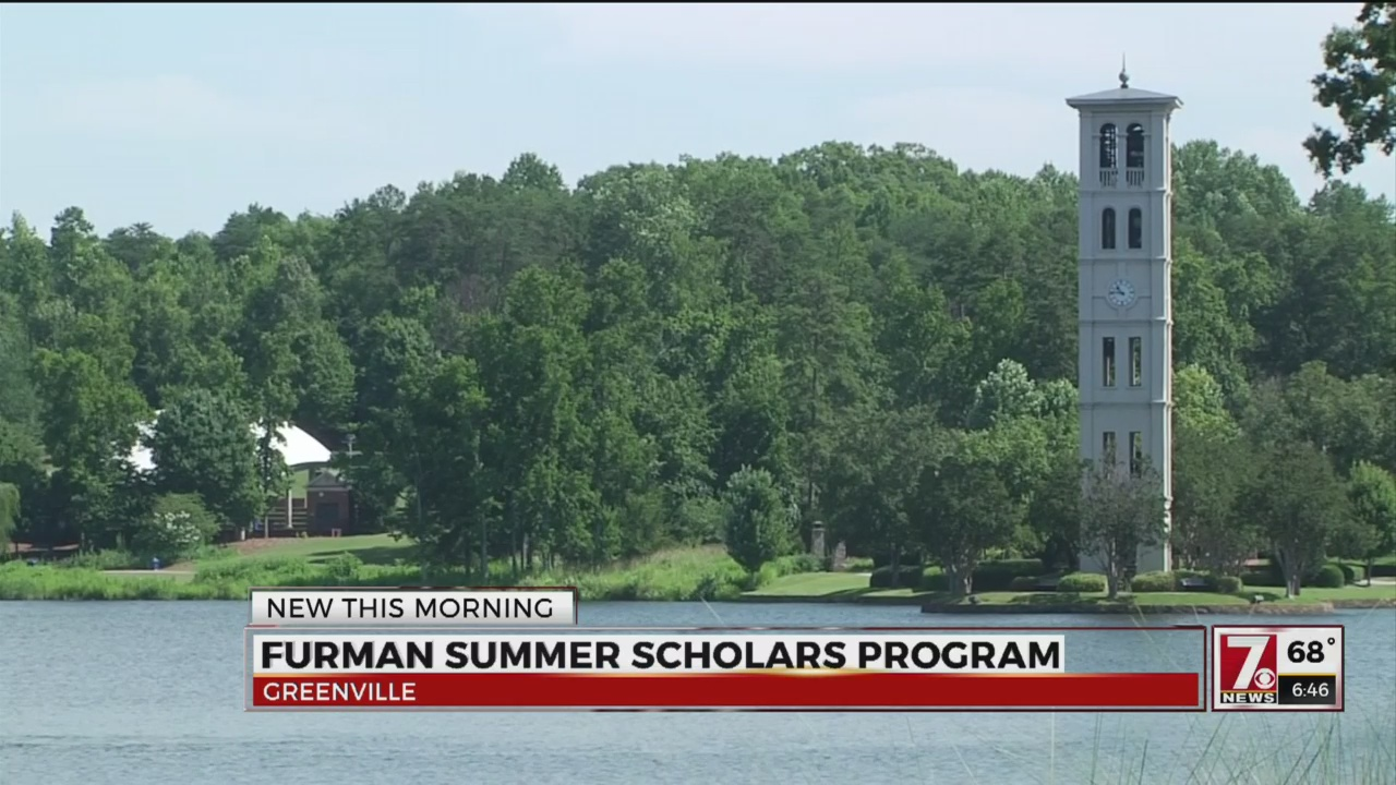 High school students experience college life at Furman