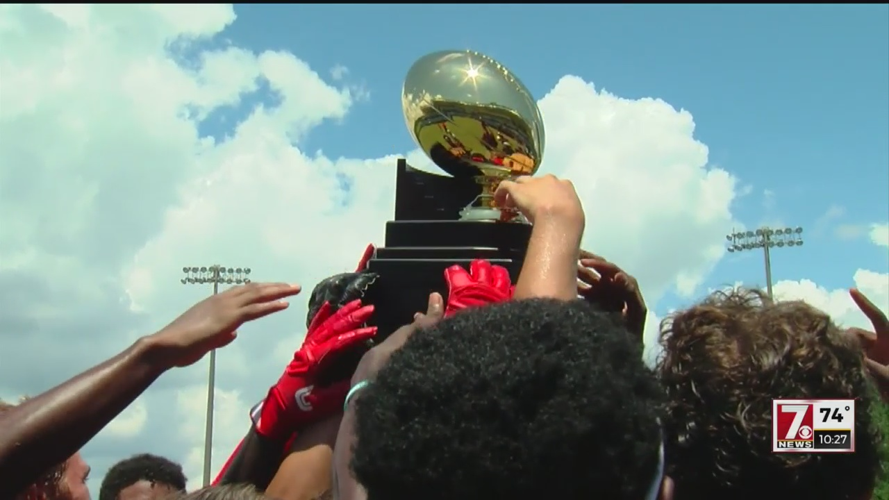 Boiling Springs Wins USA Football 7-on-7 Title in Hoover, Alabama