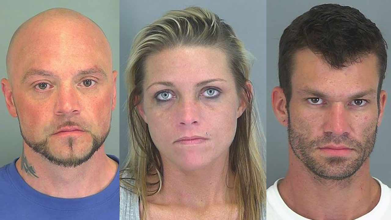 3 arrested on drug, weapon charges in Spartanburg