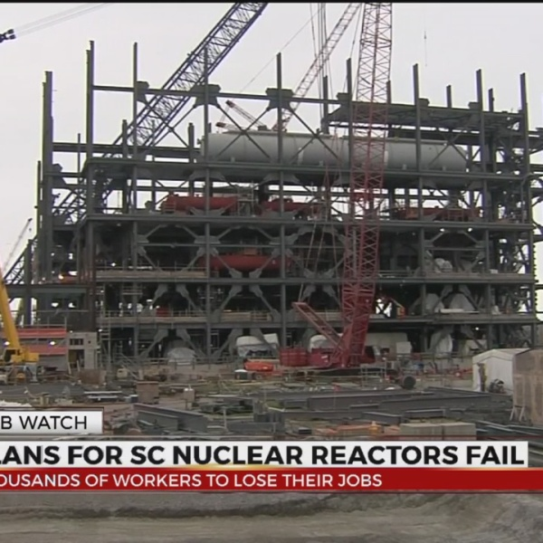 Plans for SC nuclear reactors fail