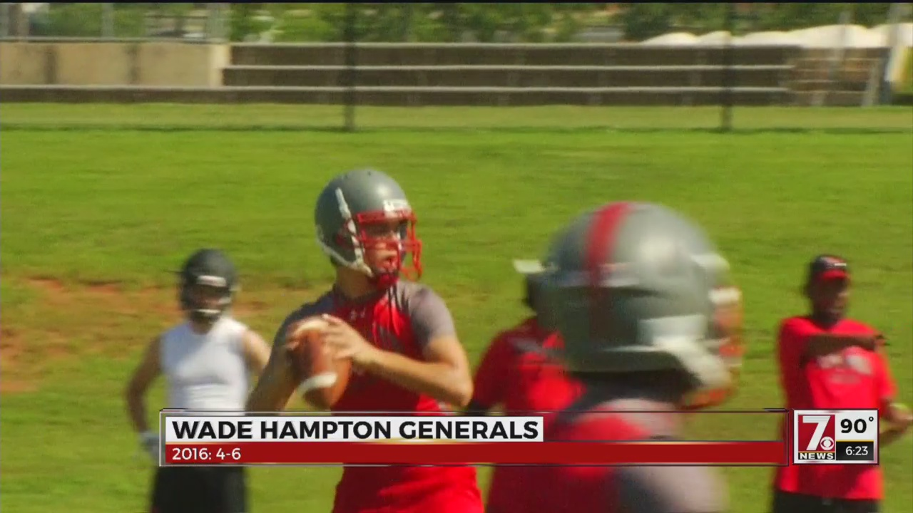 HSRZ Season Preview: Wade Hampton Generals