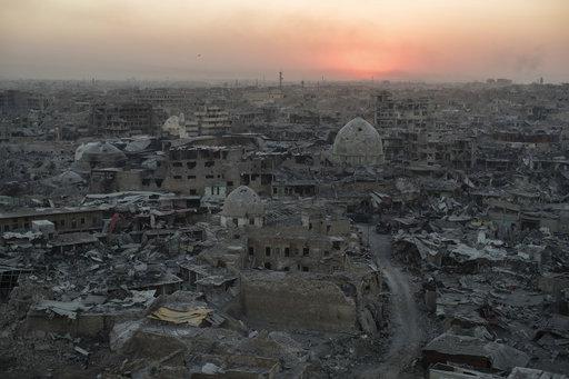 APTOPIX Iraq Mosul Destruction_435978