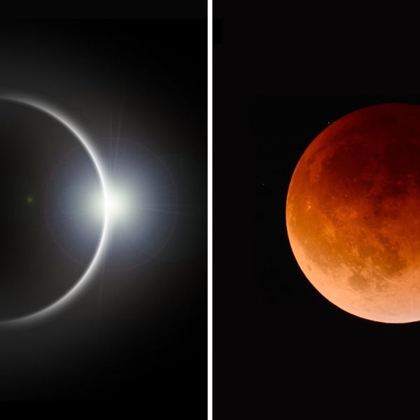 Solar eclipse and Lunar eclipse_434614