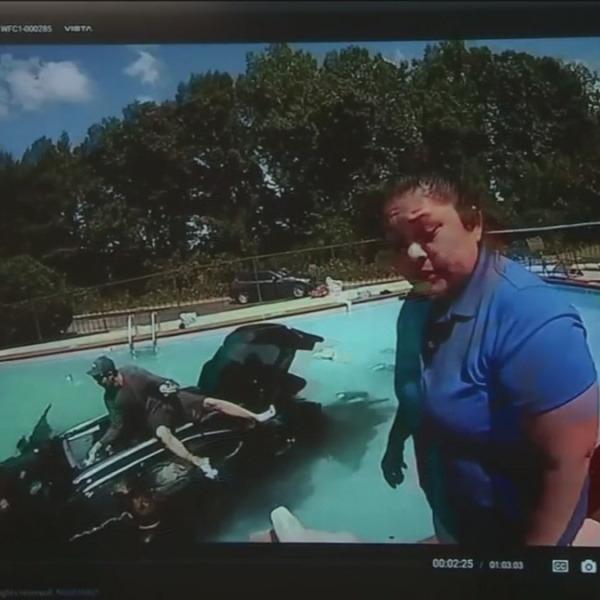 evacuees in pool_457076